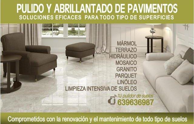 PULIDORES DE SUELOS EN SANTA COLOMA 639636987