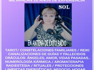 VIDENTE RECONOCIDA EN RADIO Y TV